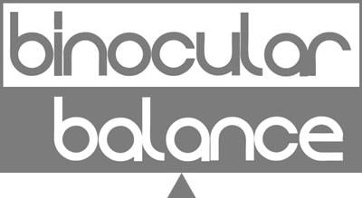 Binocular balance - logo
